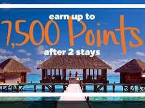 <ヒルトンホテル> 最初のご滞在で2500ポイント、2回目のご滞在で5000ポイントがもらえるキャンペーン開催中!