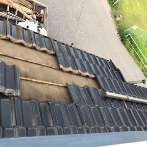 台風15号の被災から 台風19号? だから屋根が心配。
