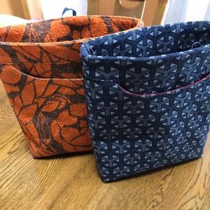 上質な輸入生地で作られたバッグたち