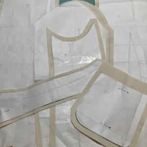 文化服装学院 服装コース ジャゲット製作4