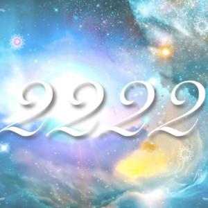222・2222の日、そしてプチ星予報☆彡