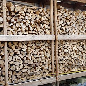 連休は薪の移動・・・