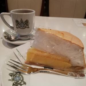 京都イノダコーヒー本店でおすすめケーキのレモンパイやお店の様子とテイクアウト