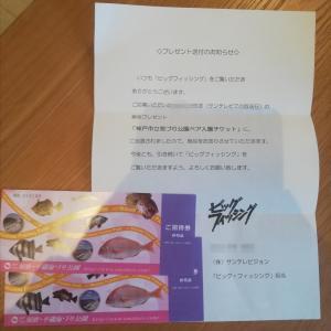 ビッグフィッシングで神戸市立海づり公園ペア入場チケットに当選!当たるコツも