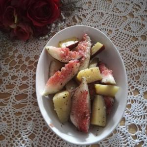 お盆過ぎが旬!いちじくとサツマイモのホットサラダは大人かっこいい味!レシピ