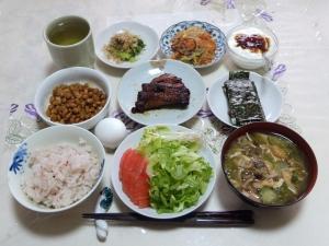 私の今日の食事(5月31日)