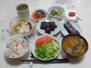 私の今日の食事(6月21日)