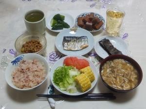 私の今日の食事(7月10日)
