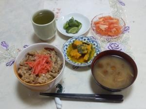 私の今日の食事(7月12日)