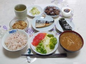 私の今日の食事(7月30日)