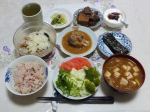 私の今日の食事(7月31日)