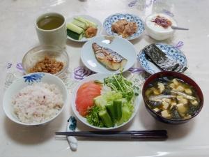 私の今日の食事(8月9日)