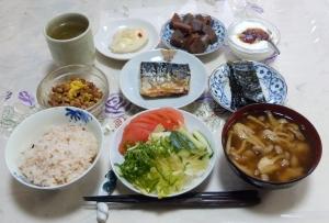 私の今日の食事(8月11日)
