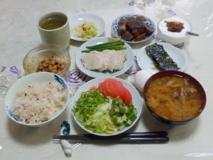私の今日の食事(8月12日)