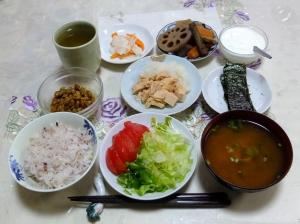私の今日の食事(10月1日)