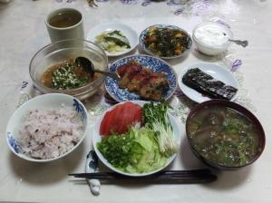 私の今日の食事(11月25日)