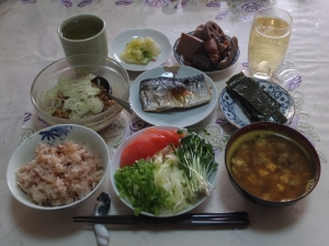 私の今日の食事(1月16日)