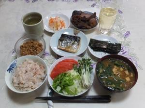 私の今日の食事(1月17日)
