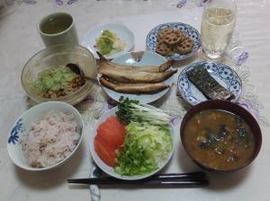 私の今日の食事(1月18日)