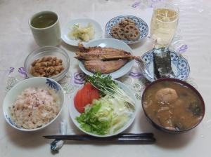 私の今日の食事(1月21日)