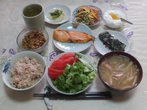 私の今日の食事(2月25日)