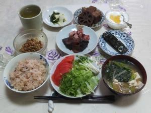 私の今日の食事(2月26日)