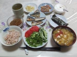 私の今日の食事(6月13日)