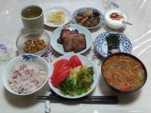 私の今日の食事(6月20日)