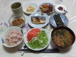 私の今日の食事(6月22日)