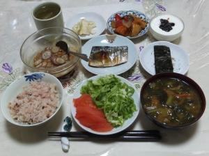 私の今日の食事(6月23日)