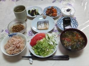 私の今日の食事(6月24日)