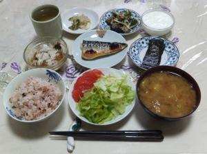 私の今日の食事(7月22日)