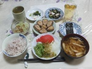 私の今日の食事(9月24日)
