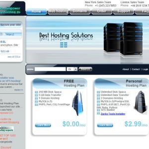 無料で使える海外サーバー domainpower