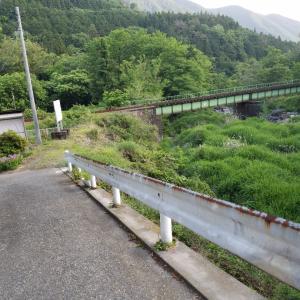 昼と夕方で違う顔 わたらせ渓谷鐵道・小中駅