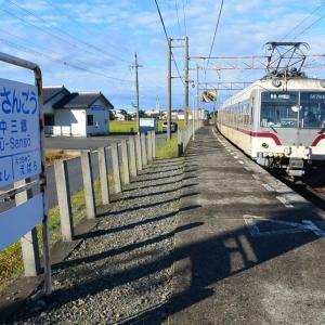 木とトタンでできた駅 北陸アルペンルート旅20
