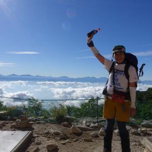初めまして中央アルプス。木曽駒ヶ岳に行くよ。
