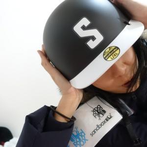 """""""NEW"""" SANDBOXスノーボードヘルメットで、いざへるめったー!"""