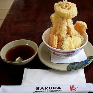 日本食店 SAKURA の天丼【ジャクソン】