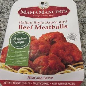Publix で Beef Meatballs を購入