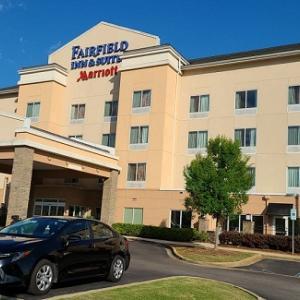 【アラバマ州】Fairfield Inn by Marriott Birmingham Pelham に宿泊