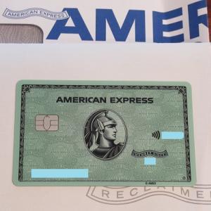 新たなアメックスカード&JALマイルを使用