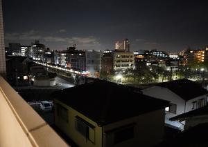 ソニーのα7Cで夜間撮影
