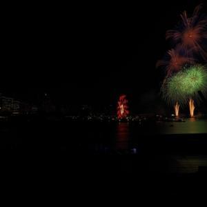 ・花火と都市風景のRAW現像方法