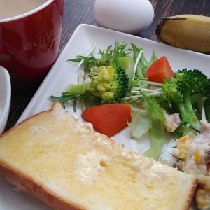 いつもの朝食