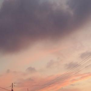 美しい夏至の日暮れはこんな色
