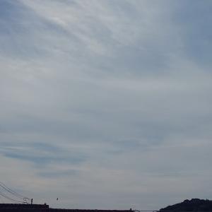 いい風の吹く涼しい早朝