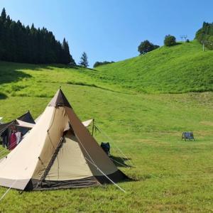 海の日の四連休は夏キャンプを満喫!