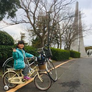 サイクリングだけど結局は遊具遊び