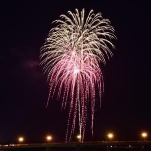 甲賀夏祭り2014の花火